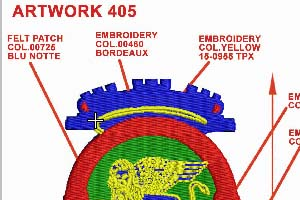 Portfolio for Embroidery Digitization