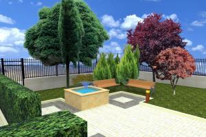 Portfolio for LANDSCAPE ARCHITECT, 2D/3D Visualization