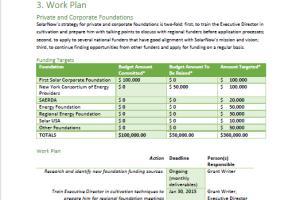 Portfolio for Fundraising Consulting