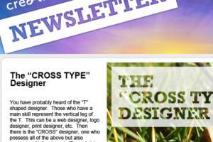 Portfolio for e-Newsletter Design