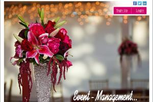 Portfolio for Event Management System