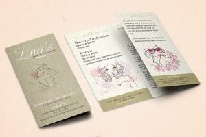 Portfolio for Brochure and Menu Design