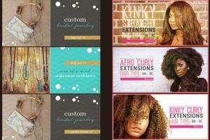 Portfolio for Banner and Web Ad Design