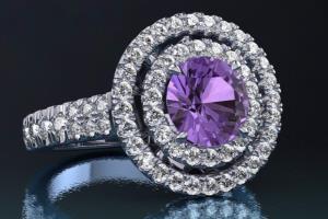 Portfolio for 3D Jewelry Designer, Gemvision Matrix