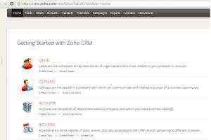 Portfolio for Zoho - CRM