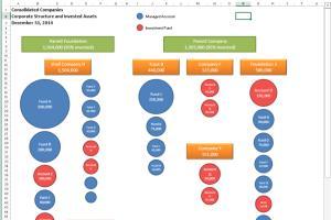 Portfolio for Data organization and visualization