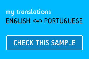 Portfolio for Translation: English to Portuguese