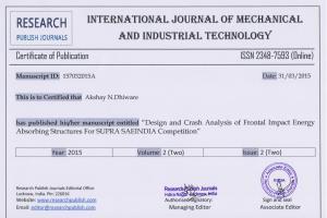 Portfolio for Engineering and Design services