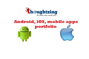 Portfolio for iPhone iPad, iOS application developmen