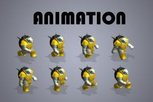 Portfolio for Character animation