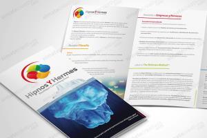 Portfolio for brochure flyers catalog