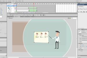 Portfolio for 2D animation - explainer video