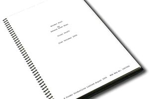 Portfolio for Screenwriting