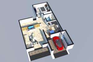 Portfolio for 2d and 3d design