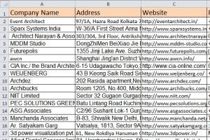Portfolio for Data Entry & Web Research