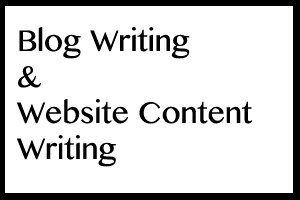 Portfolio for Blog Writing and Website Content Writing