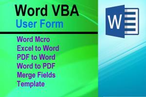 Portfolio for Microsoft Word | VBA for Automation
