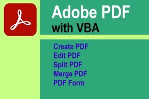 Portfolio for PDF Programming with VBA