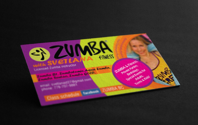 20 beautiful zumba business card template graphics business cards my designs by emily johnson 1 on guru reheart Choice Image