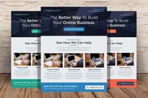 flyer design freelancers guru