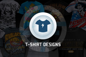 Portfolio for T-SHIRT DESIGNS