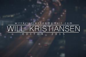 Portfolio for Video Editor and 2D VFX Artist