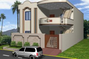 Portfolio for Design 3D Model of a House