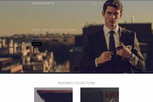 Portfolio for Shopify Template design.