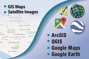Portfolio for GIS data process/analyse and GIS mapping
