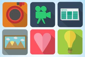 Portfolio for Profession icons for your app