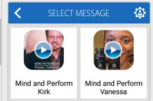 Video Messing App