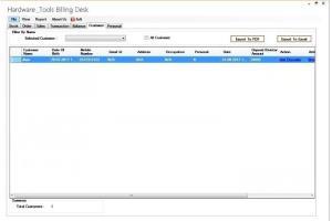Portfolio for Desktop Application