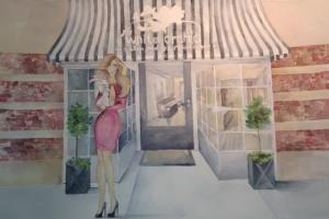 Portfolio for Artist and watercolor painter