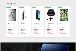 Portfolio for Ecommerce Website (Online Store)