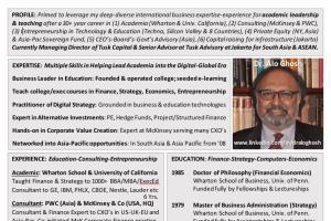 Portfolio for Finance & Strategy Guru
