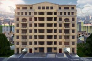 8 storey appartment building
