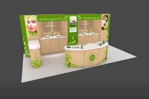 Portfolio for TradeShow Booth : Banner : Backdrop