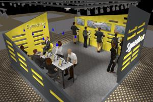 Exhibition stall for synechron