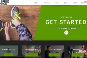 eCommerce Website (Athletic Club)