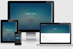 Portfolio for Design a Wordpress or HTML Site.