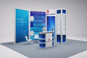 Portfolio for 3D Booth and Kiosks Designs