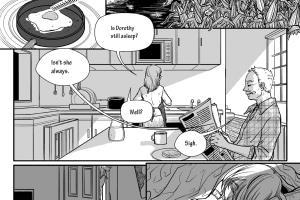 Portfolio for Comic pages