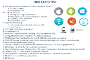 Portfolio for Enterprise Mobility - iOS/Android/Swift