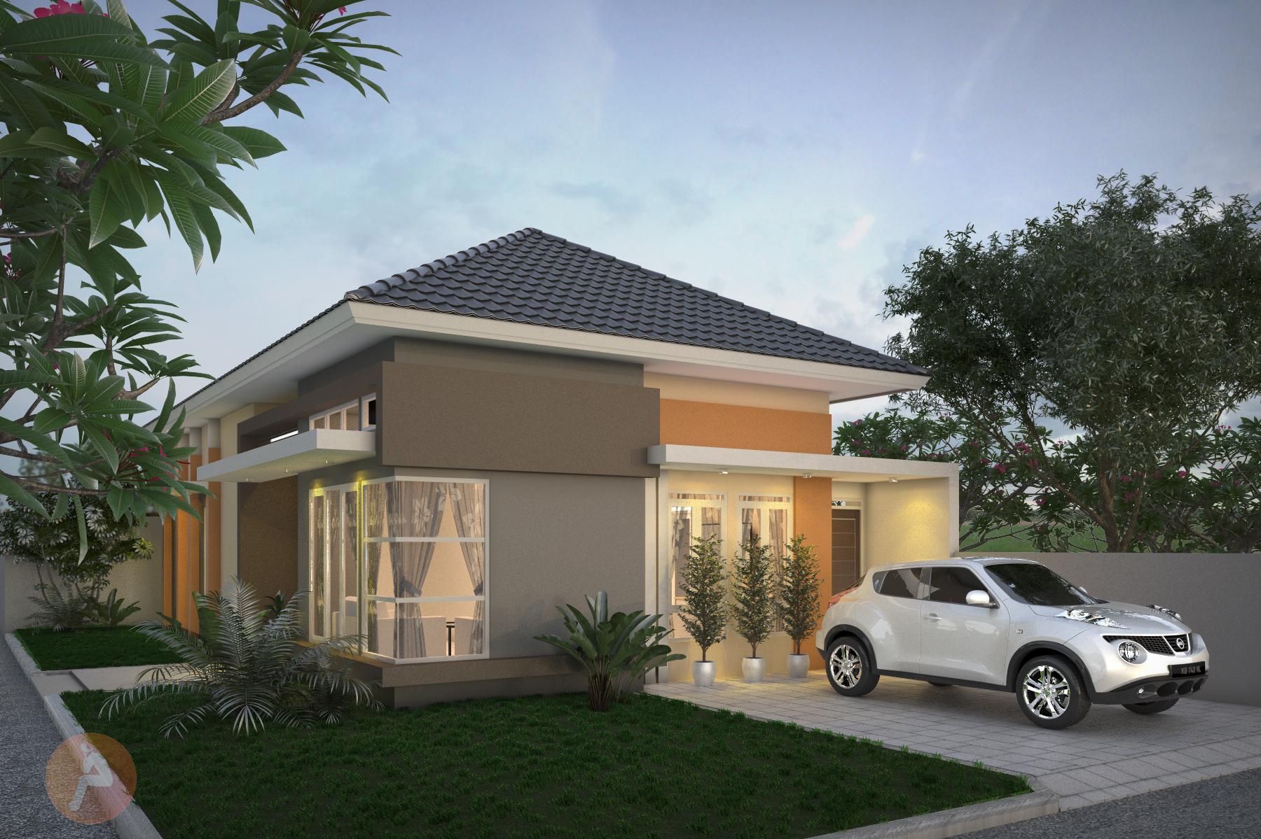 Sqm House Design Mr Ewas House By Jae Arif On Guru - House design 80 sqm