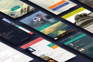 Portfolio for fantastic, iPhone or Android app design