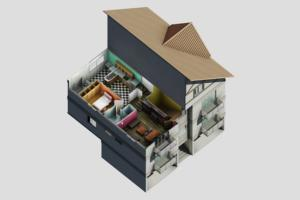 Portfolio for Architecture drawing and visualization