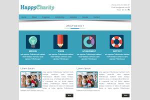 Portfolio for HTML/CSS website template sale