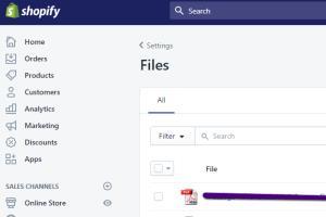 Portfolio for Shopify Product Set up