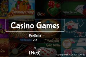 Portfolio for Casino Gaming Development