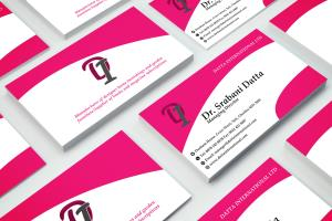 Portfolio for I will design double sided business card
